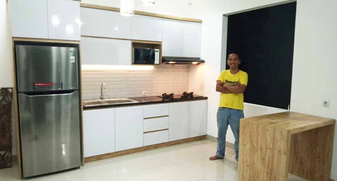 7 Tips Desain Kitchen Set Minimalis di Bekasi Cikarang ...